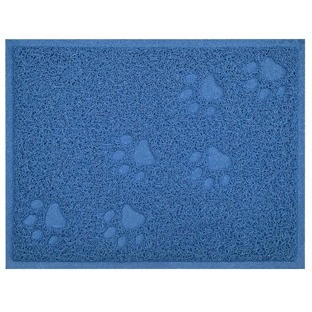 No Slip Plaza gato portátil Easy Clean Home Camada Mat admiten patas Impreso suave