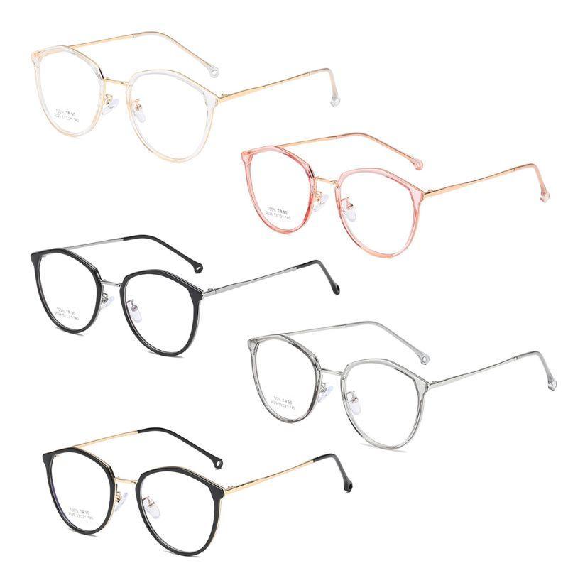 Женщины Мужчины Нерегулярное Polygon TR90 Оптические очки кадров Мода Прозрачный очки кадр очки унисекс Protector Case 5 цветов