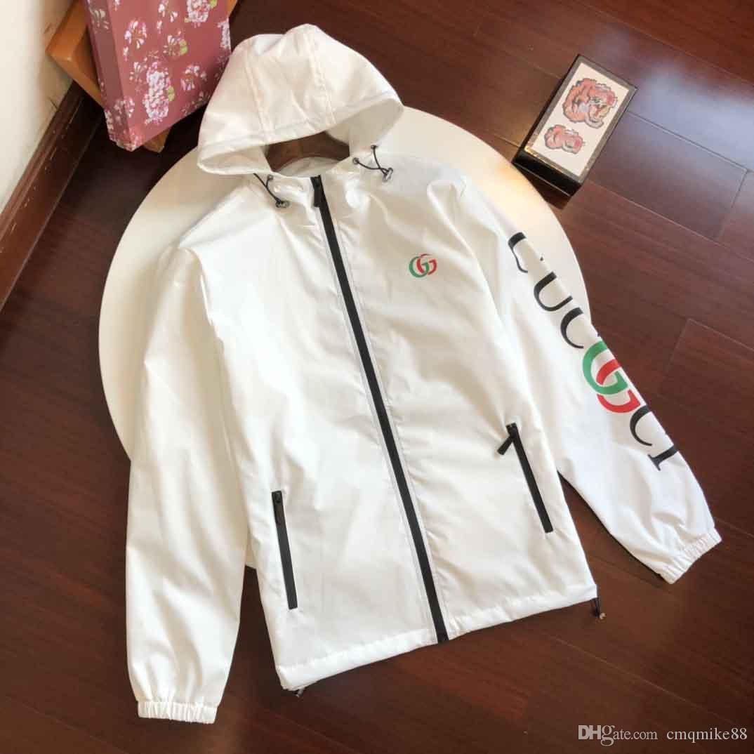 El diseñador de moda con capucha para hombre de la chaqueta militar Mapa reflectantes chaquetas con capucha para hombre Negro ropa de lujo chaquetas sudaderas noctilucentes tamaño M-3XL