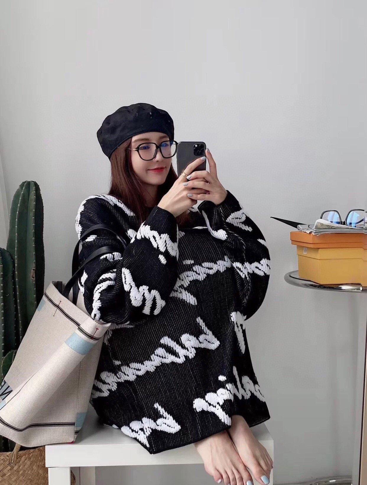 унисекса зима мужские свитера дизайнеров импортирован материал хлопок комфорт warmth3D граффити заграждение полушерстяные ткани трикотажного зимний свитер