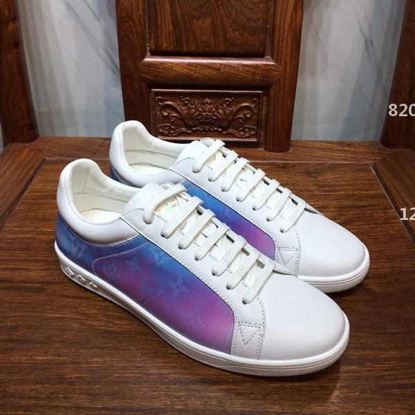 desigenr de lujo 360 del cuero del diseño de los hombres zapatos superiores de lujo de la manera Footwears plana marca Drive zapatos casuales para hombre zapatillas de deporte Herren-Zapatos de lujo