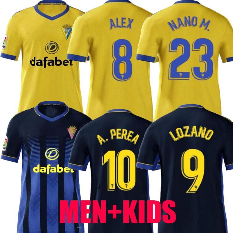 2020 2021 كاديز كرة القدم بالقميص نادي قادش camisetas دي فوتبول 20 21 LOZANO ALEX Bodiger خوان كالا CAMISETA A LIGA MEN + KIDS قمصان كرة القدم