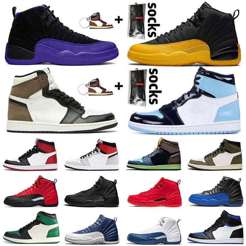 Air Jordan Retro 12 12s Jumpman Stock x Zapatillas de baloncesto para hombre para mujer Hot Punch University Gold Game Royal OVO White Black Trainers Sneakers SIZE EUR 47