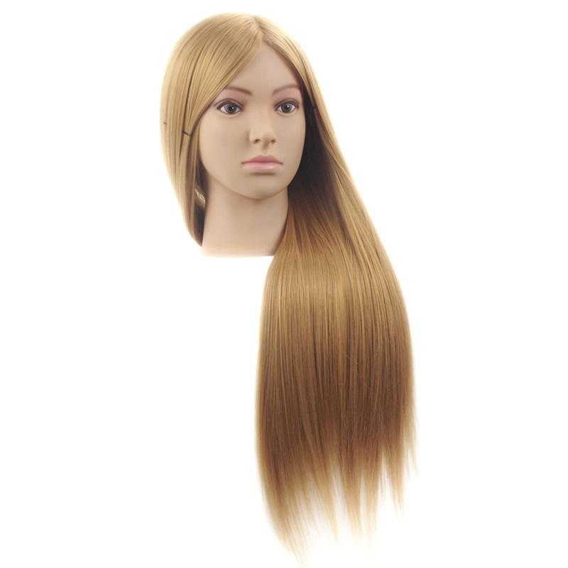 Female 65cm Hairdressing Mannequin Dolls Head Hairdressing Practice Professional Training Mannequin Head