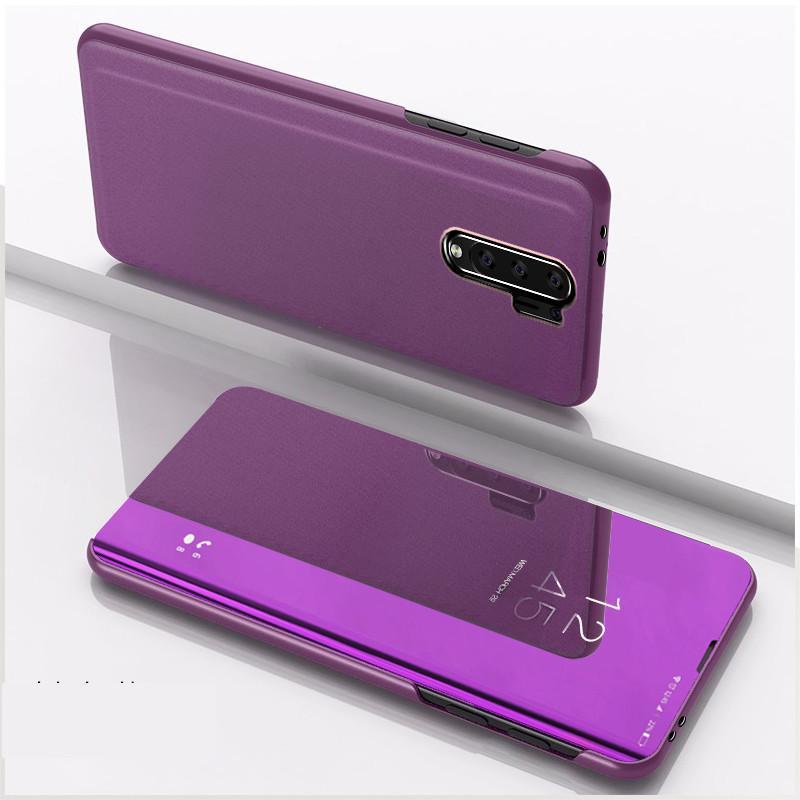 Lüks Akıllı Ayna Flip Case For Xiaomi redmi 9 9A Not 8 Pro 8A 8T Clear View Deri Kapak İçin K30 10X Mi 10 Lite Gençliği Standı 9s