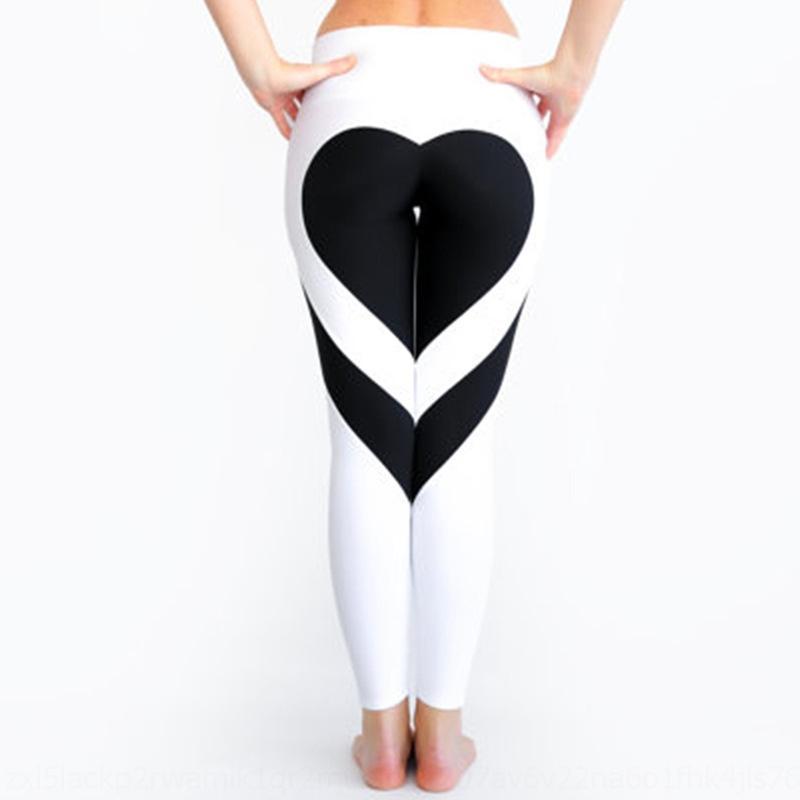 ZwcV8 BM7Ar coração Bundas pêssego costura hip fina yoga coração de cintura alta hip-costura calças slim pêssego leggings calças cintura
