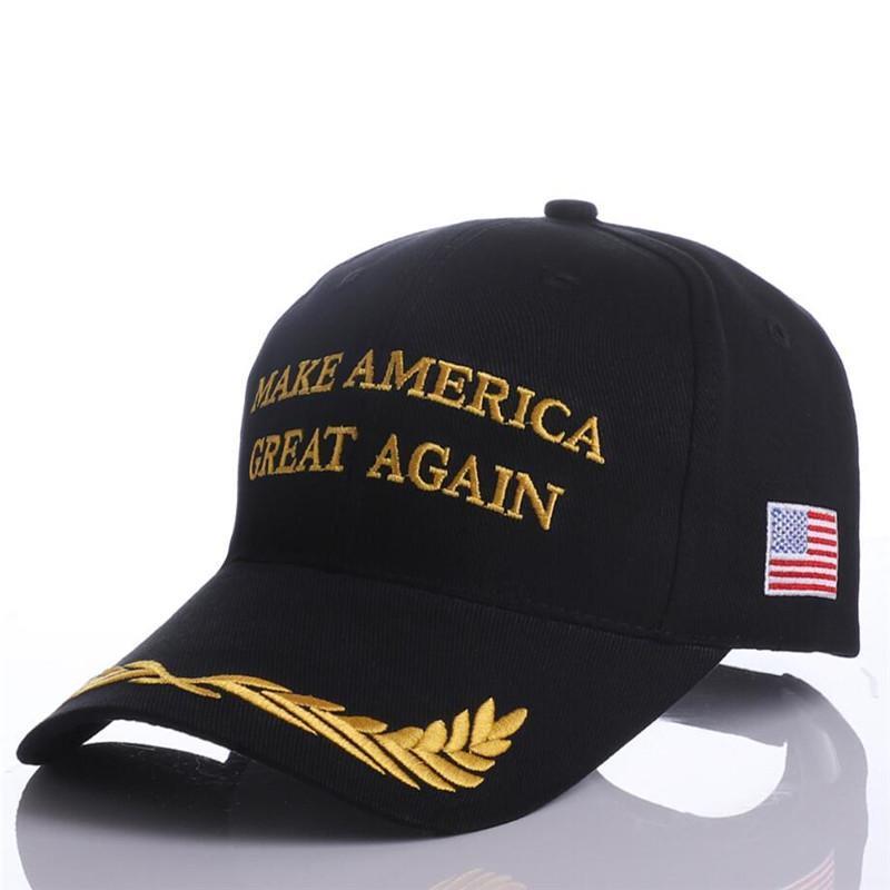Trump 2020 Şapka ABD Bayrağı Beyzbol Moda Donald Trump Cap Amerika Büyük Yine Ball Cap Nakış Spor Snapback Şapka DHF174 olun Caps