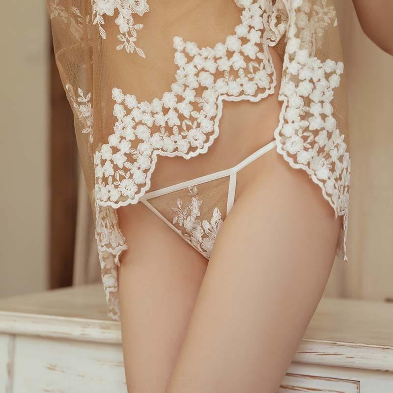 Shiji Charme nuova biancheria intima sexy in pizzo ricamato camicia da notte pigiami di tentazione della biancheria intima pigiama della donna ricamati vestito sexy trasparente