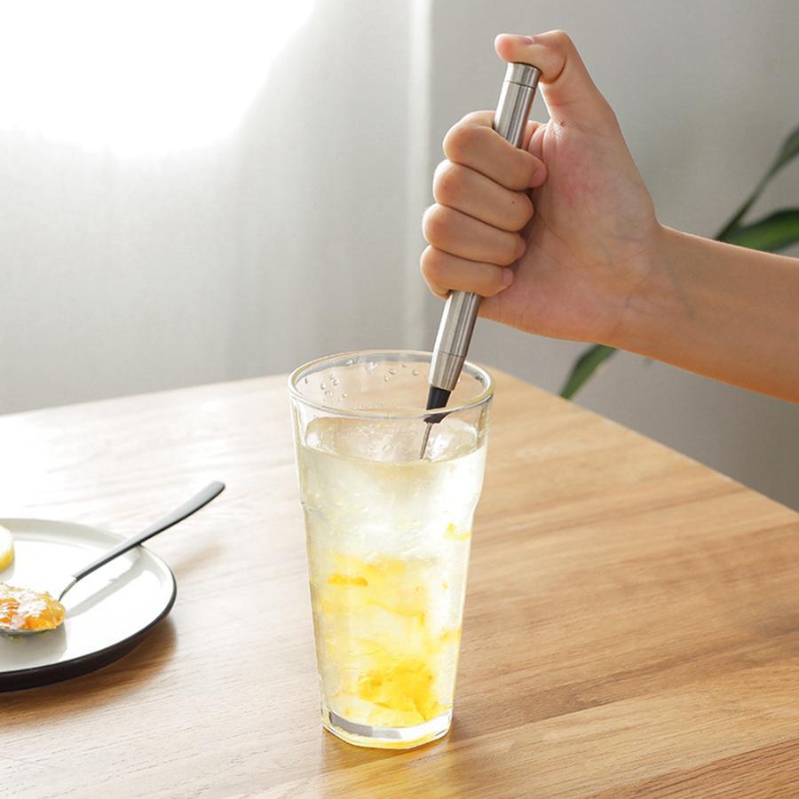 Électrique automatique Fouets à lait en acier inoxydable Frothing Coil Cappuccino Latte café Moussant Maker Cuisine Outils RRA3643