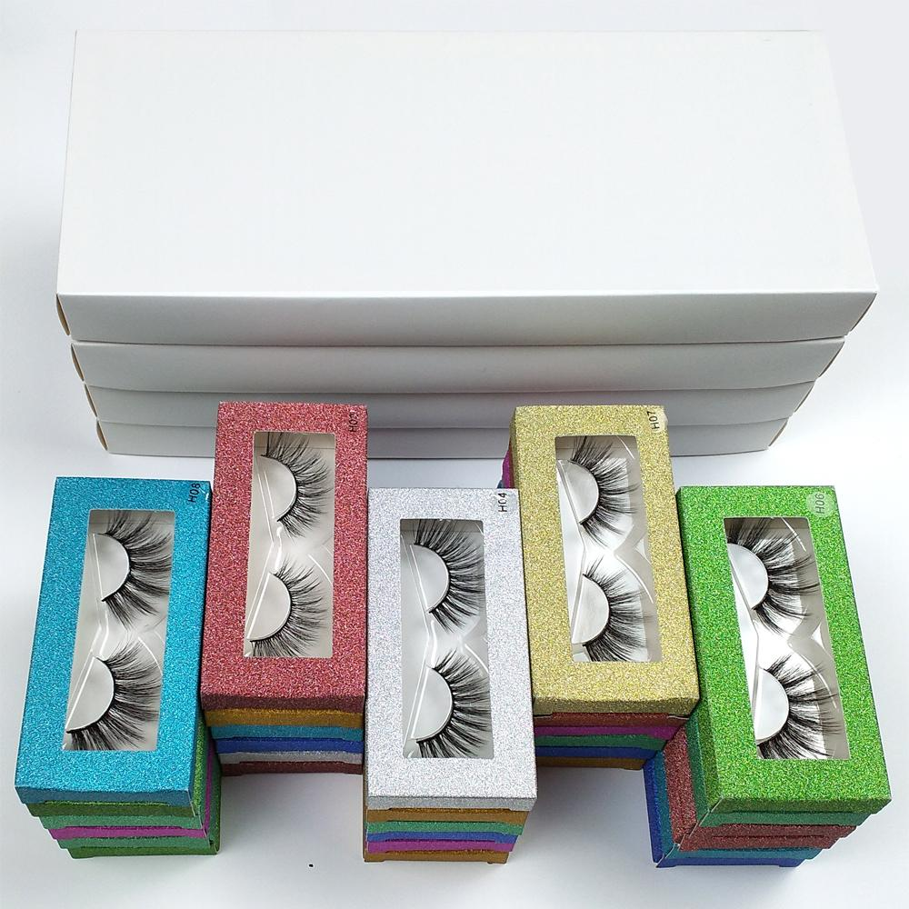 Großhandel Wimpern 10 Stil 3D Mink Wimpern Natürliche falsche Wimpern Handgemachte Make-up Eye Wimpern 3D Mink Wimpern Packung in Großbranche