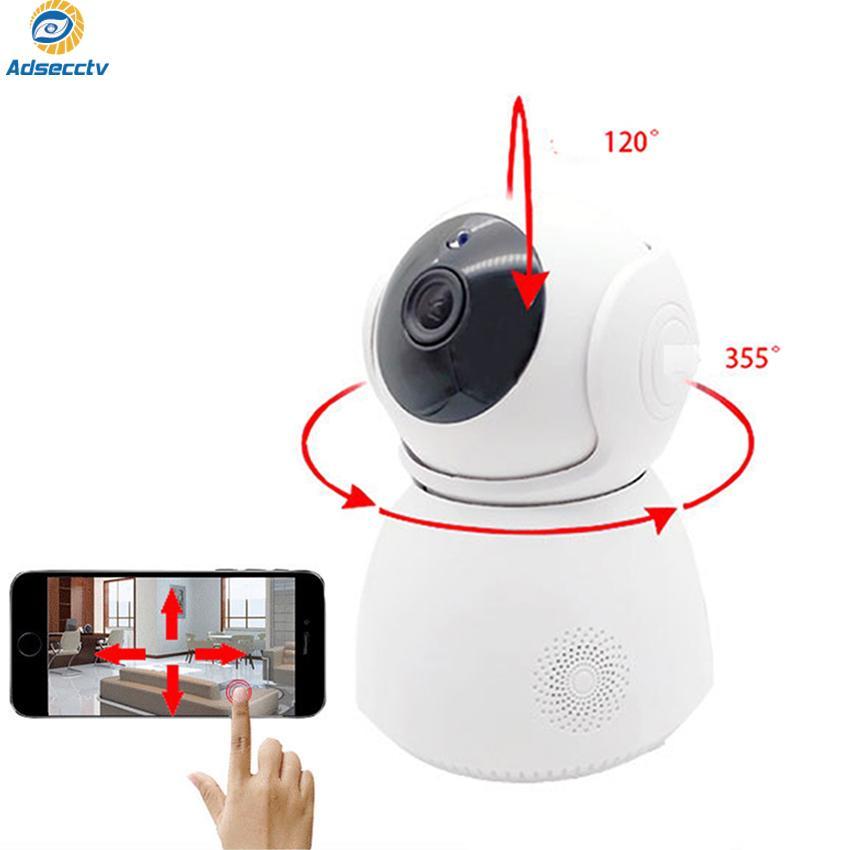 IP 무선 카메라 720P 베이비 모니터 무선 CCTV 감시 카메라 IR 나이트 비전 P2P 홈 보안 카메라 AS-IP815W