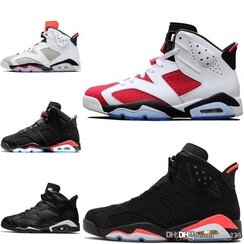 Mens 6s basquete sapatos J6 vôo do ar verde Abyss Aleali Maio Preto infravermelho aj 6 jumpman VI sneakers tênis com alta qualidade