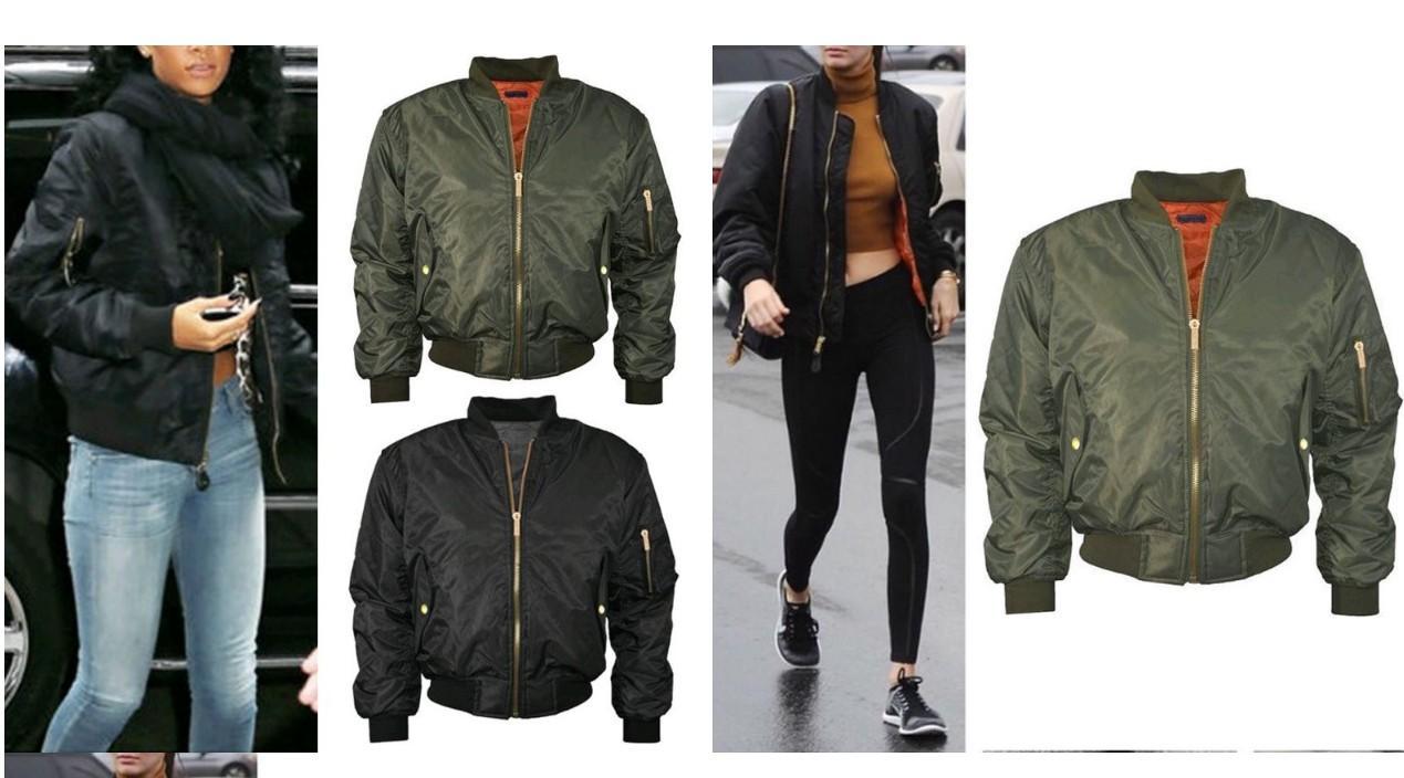 Outono Inverno Casual Coats Parkas Exército Verde Bomber Jacket Mulheres Brasão Jacket Básico acolchoado Zipper Chaquetas motociclista Outwear