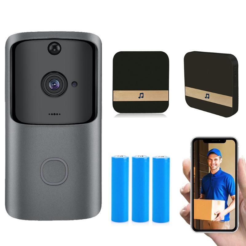 HISMAHO WIFI macchina fotografica del campanello Smart Home Video Portier IP campanello senza fili Remote Camera Battery 720P HD di visione notturna