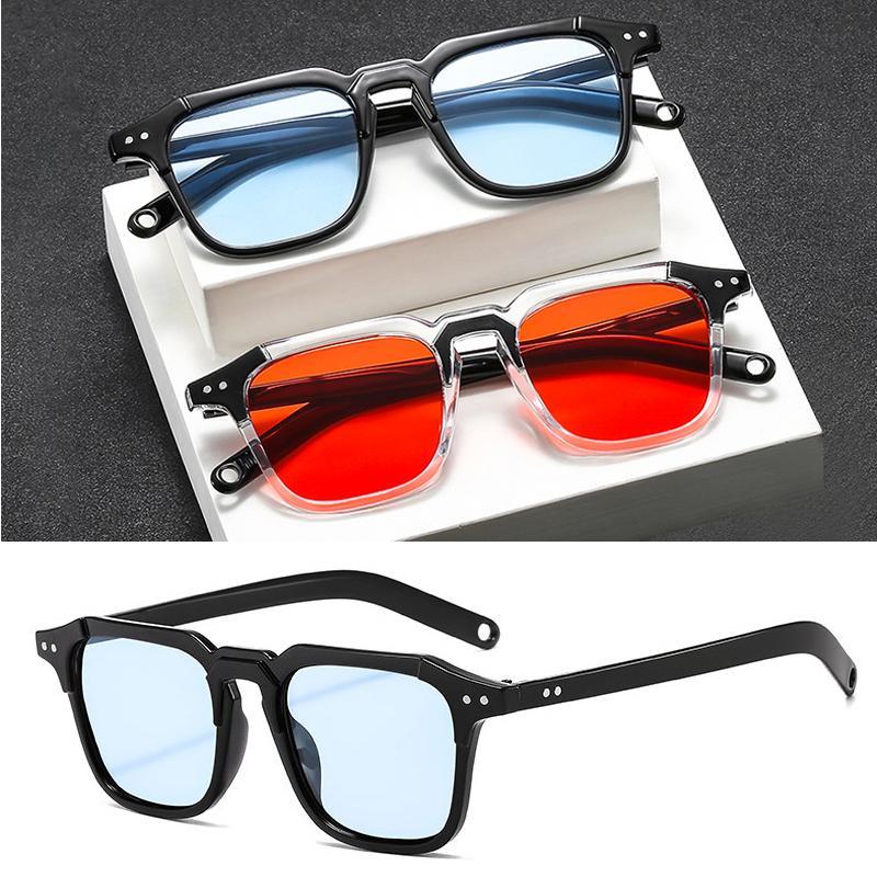 2020 Fashion Square Sonnenbrille Frauen Designer Luxus-Mann / Frauen ins Auge Sonnenbrille der klassischen Weinlese im Freien