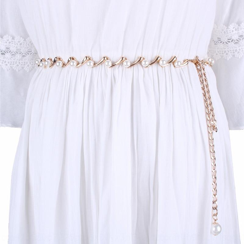 IvIX7 koreanischen Kleid Rock Strass dünne Kette Kleid Perlen Rock Perlen Taille Kette Frauen Bauchtanz sexy Ziergürtel