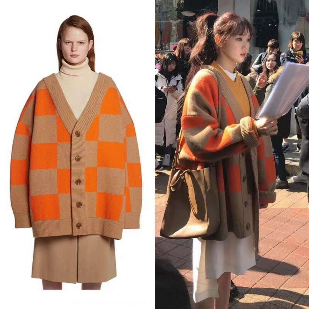 tEpZj zQQZe autunno e inverno Li Internet biblico celebrità ins cappotto Super Coat coreani caldo allentato maglione maglione donne sweaterBible stile