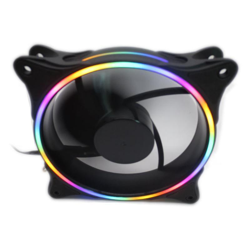 Rgb Light Ultra-quiet Durable Aluminum Pc Cpu Cooler Cooling Fan Silent Cooler Fan Cpu