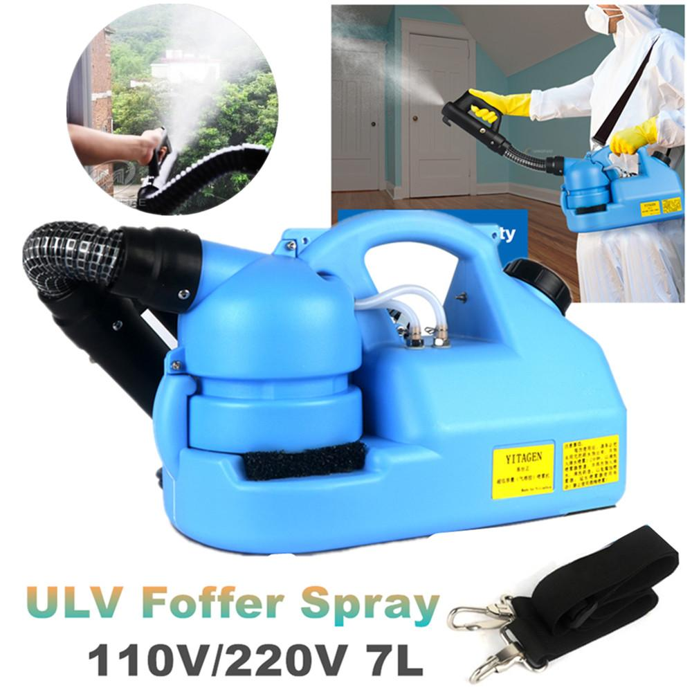 110V/220V Electric ULV Sprayer Mosquito Fogging Machine Intelligent Atomizer Ultra Low Capacity Fogger Disinfection Sprayer