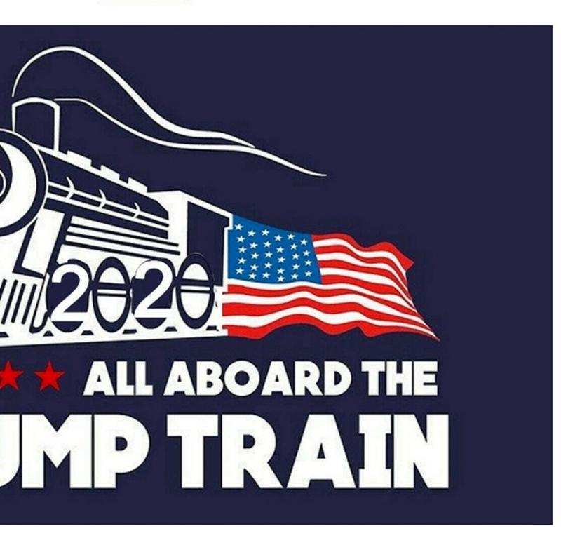 Trump Car Sticker Trump Train Wall Stickers Donald Window Sticker US Election Home Decor Free Shipping GWC1076