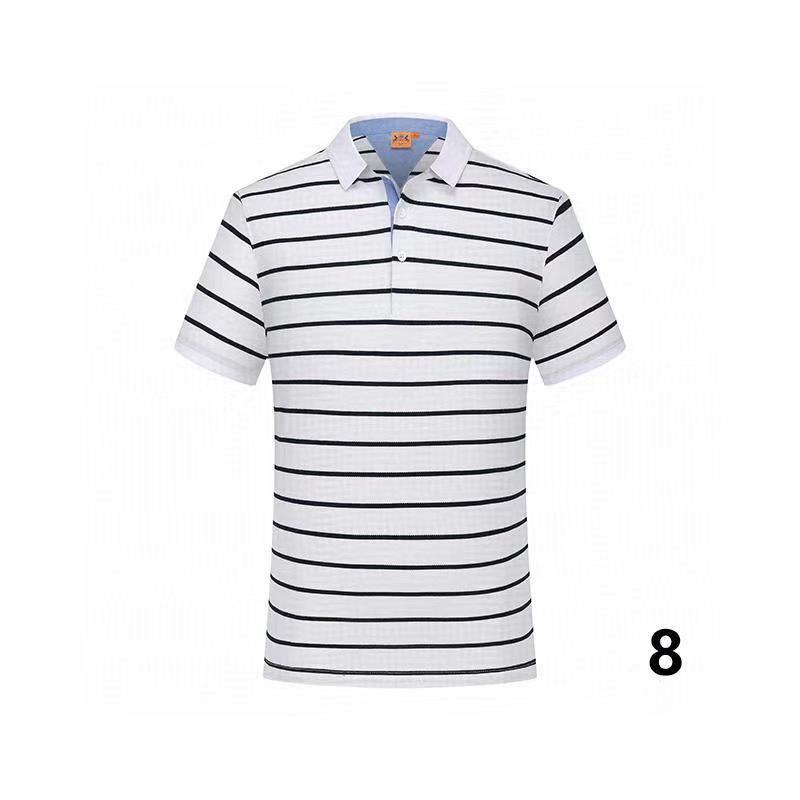20-9 del cotone di estate di colore solido nuovo stile di polo di alta qualità fabbrica polo uomo luxury1 uomini di marca in vendita