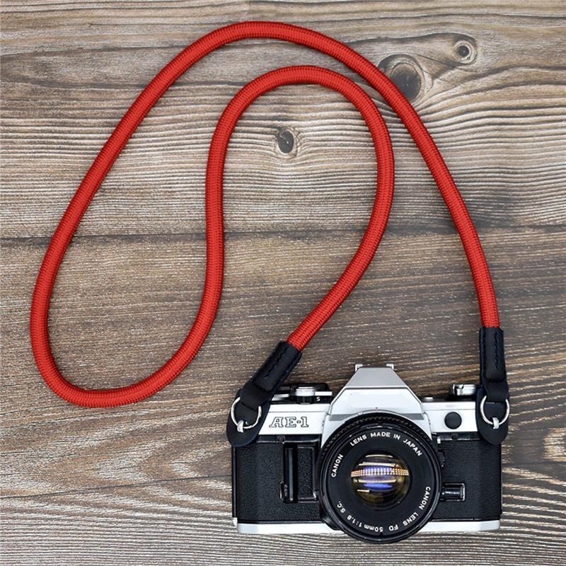 Cou en nylon universel Sangle de poignet Ceinture Compatible avec l'appareil photo reflex DSLR Action Sports Escalade Corde Dragonne JK2008XB