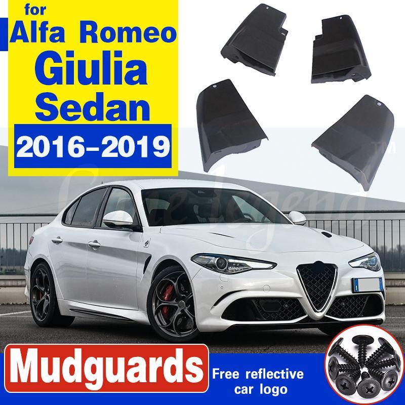 Auto-Schmutzfänger für Alfa Romeo Giulia 952 Limousine Limousine 2016 ~ 2019 Fender Mud Schutzklappe Splash Flaps Radschützer Zubehör 2017 2018