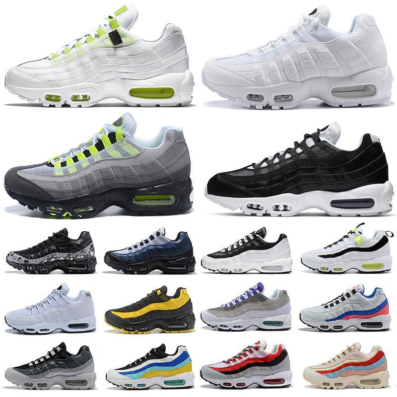 ثلاثية أسود أبيض الرجال النساء الاحذية في جميع أنحاء العالم يين يانغ النيون في الهواء الطلق منصة رجل chaussures إمرأة الرياضة أحذية رياضية المدربين 36-45