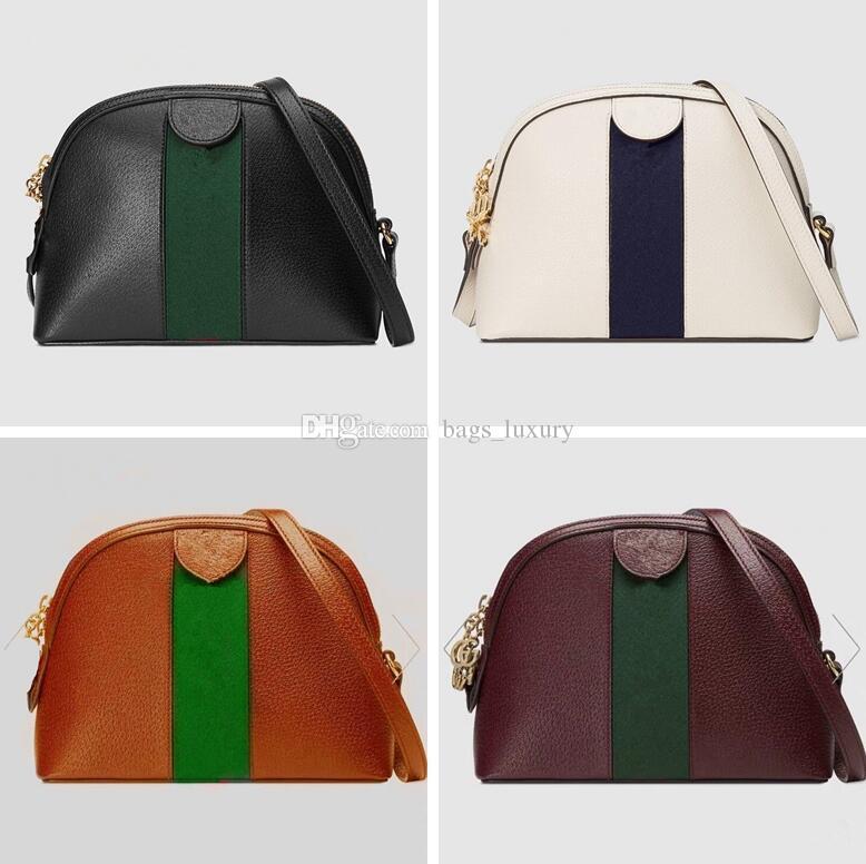 Mode Dame Crossbody Striped Bag Shopping Geldbörsen Kostenlose Taschen Hohe Qualität Brief Nähte Tasche Schulter Shell Abend Handtasche Odtsw