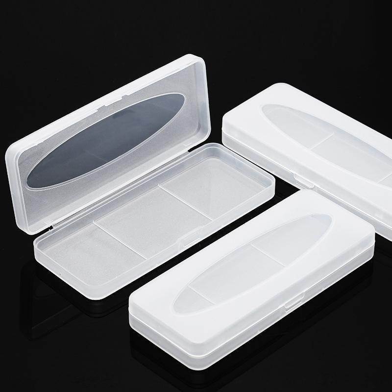 Yeni genişlemiş durumda durumda basınca dayanıklı plastik kurbağa klip gözlük uygun gözlük kutusu DTMvZ kutu buzlu büyütülmüş