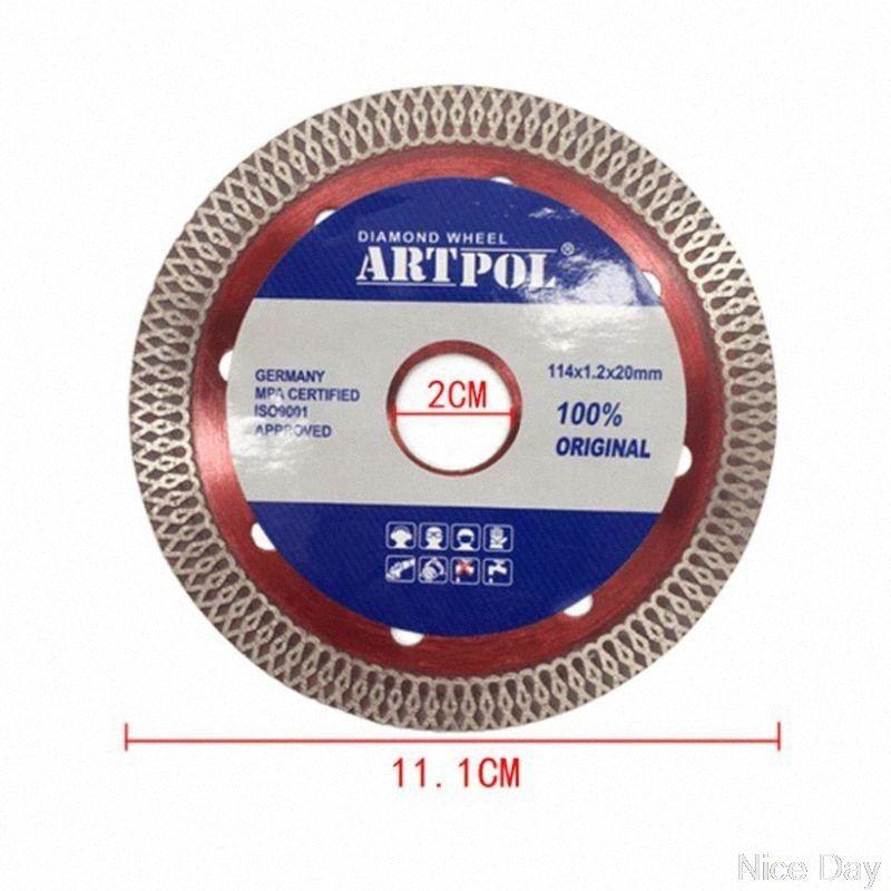 Ultra-mince scie à diamant en céramique Lame Roue Porcelaine coupe à sec Grinder disque MY07 20 Dropship GZvR #