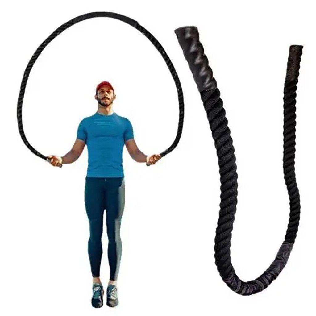 25 millimetri Fitness Heavy Weighted Jump Rope Skipping Corde per gli uomini donne esercizio aerobico fisica delle apparecchiature Jumping Rope # 3