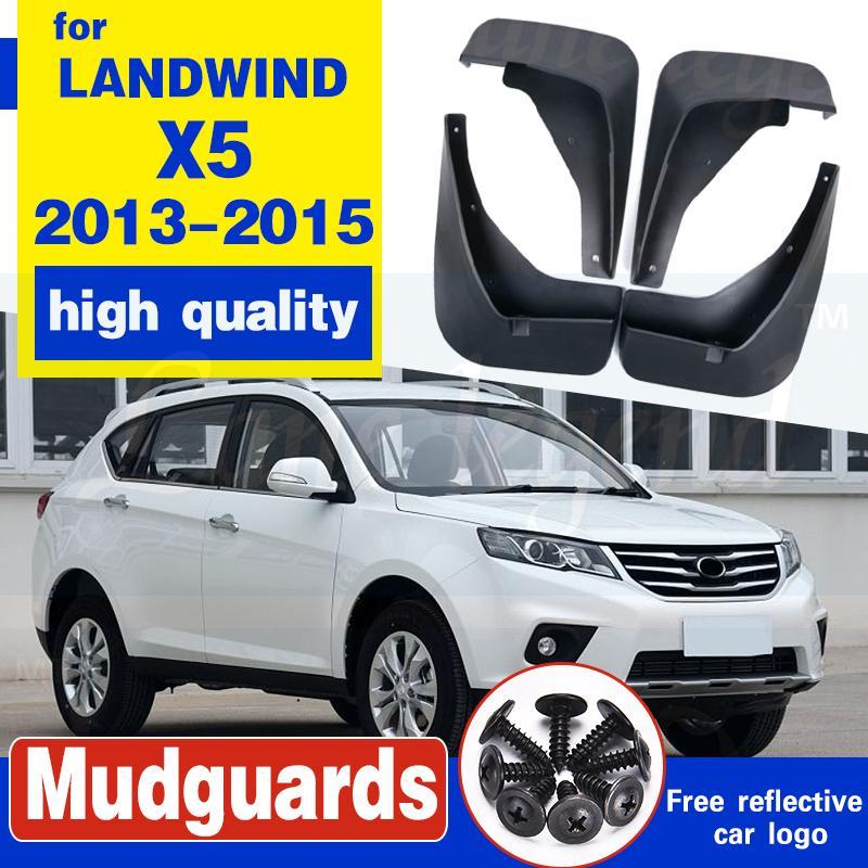 Mud frente traseira do carro Flap Para Landwind X5 2013-2015 2014 mudflaps respingo Guardas da aleta da lama lamas Fender