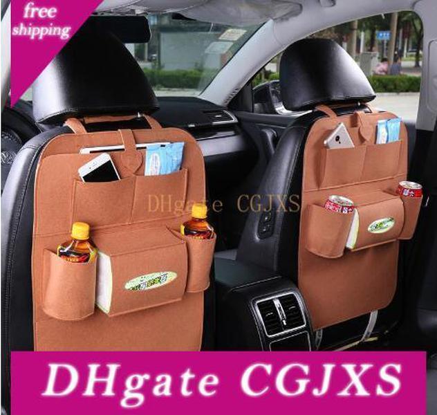 Isolamento Lavoro Auto Car sede stile dell'organizzatore del supporto Sundries Multi -Pocket Viaggi bagagli sacchetto del gancio Backseat Organizzatore Box