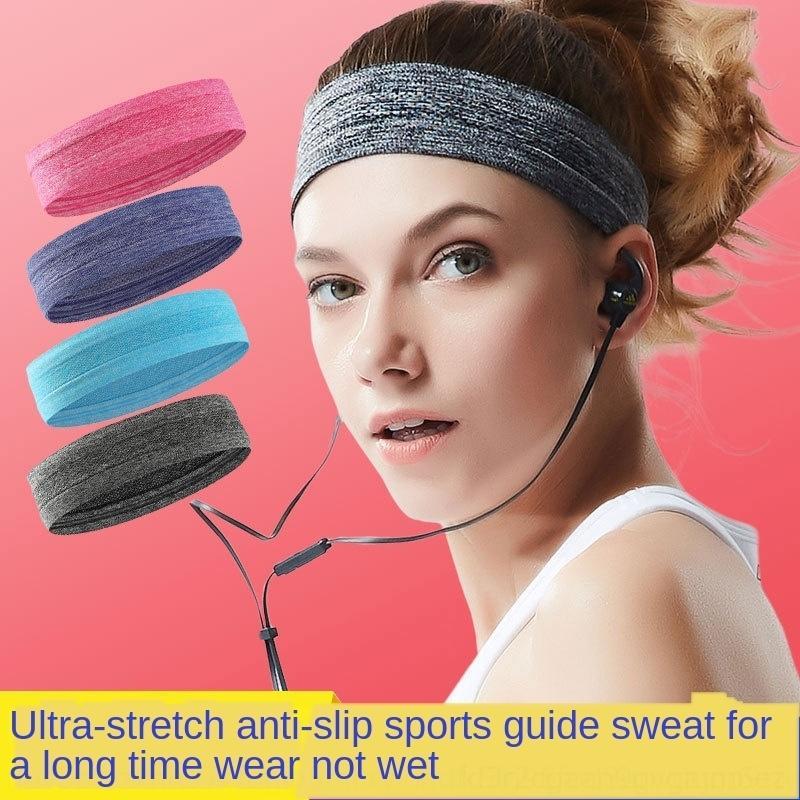 Koşu spor ter emici kemer Basketbol Saç Tenis kaymaz eşarp ter kesici kafa bandı yoga saç bandı baş Spor başörtüsü W4oZH