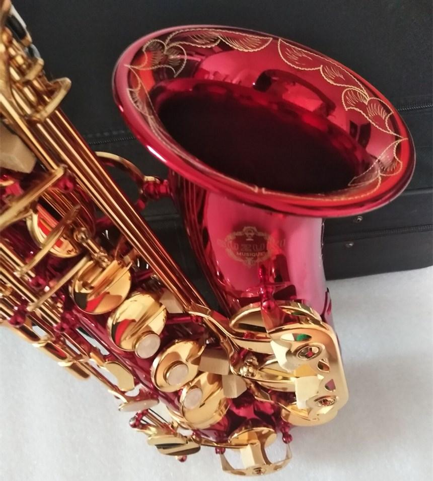 جديد وصول سوزوكي ألتو ساكسفون e-flat music أداة الأداء المهنية حالة