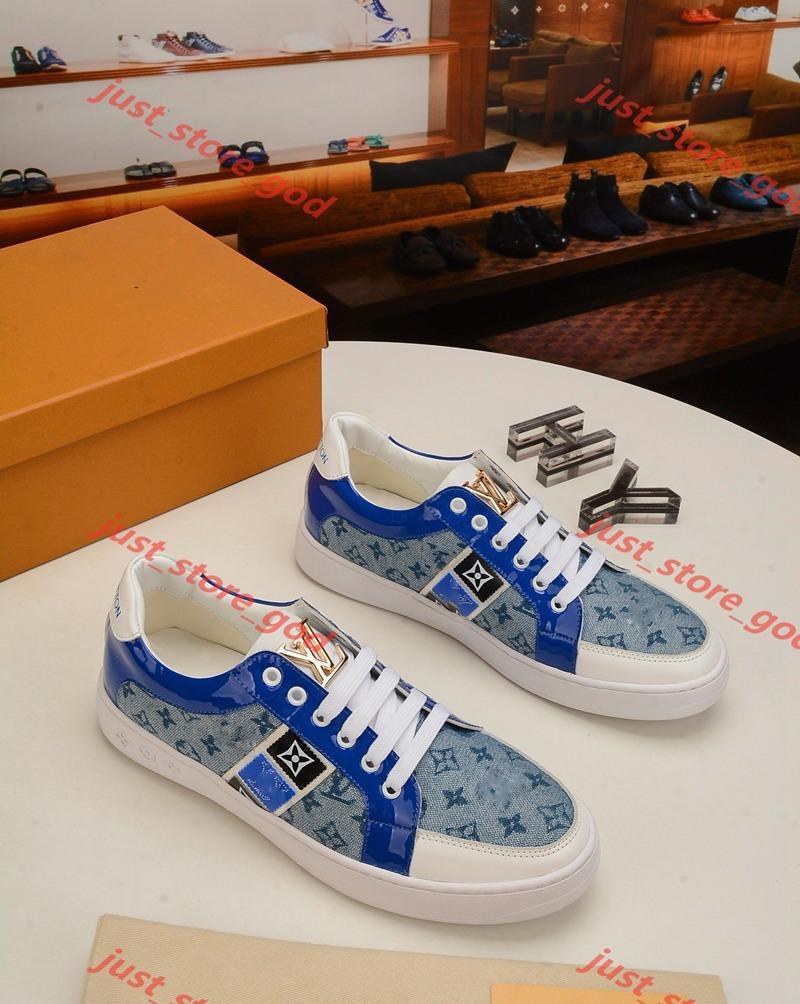 Louis Vuitton Uomo Scarpe da ginnastica Luxe traspirante di altissima qualità Zapatos de hombre Scarpe Rivoli Sneaker Mens Fashion Design Calzature Chaussures up