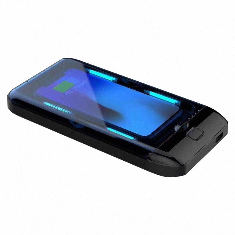Box Portátil Esterilizador UV Caso Desinfecção Máquina de revestimento para máscara Telefone Relógios Óculos Roupa interior escova de dentes usb carga LJJA3983 SbQM #