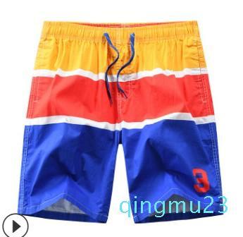 fashion-mens bicchierini della spiaggia di nuoto del Mens pantaloncini Quick Dry Beachwear Consiglio mens Beach pantaloni-ST9046strip