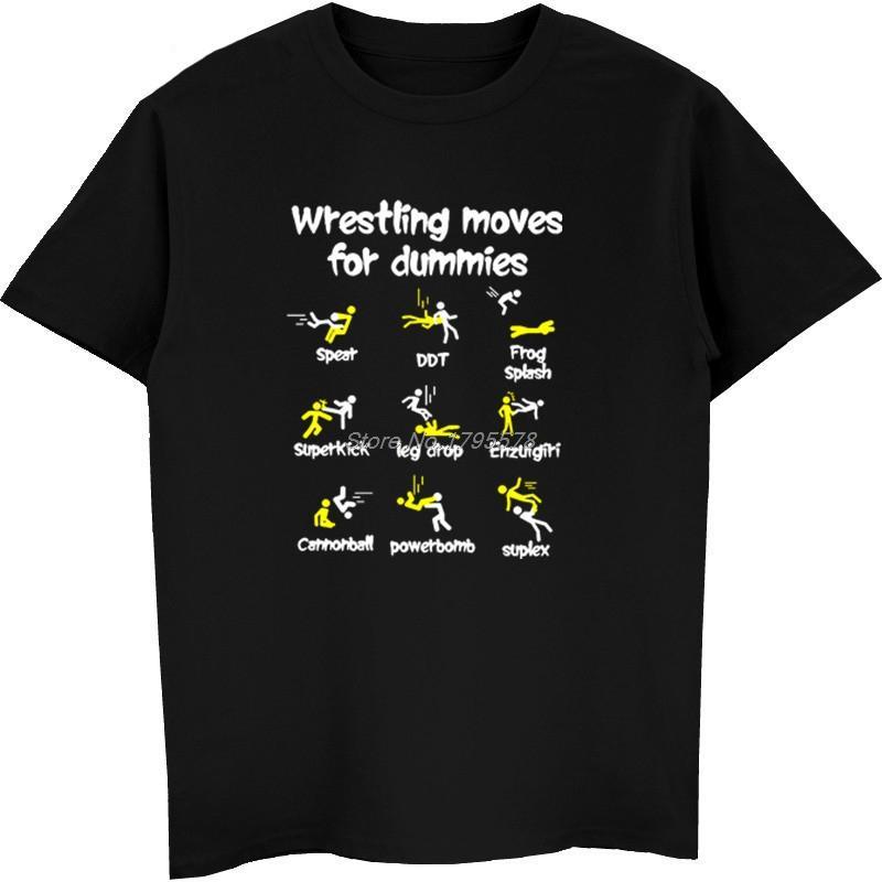 Les mouvements de lutte pour les nuls T-shirt Vêtements pour homme New Style rock 3XL coton à manches courtes T-shirt O col Hip Hop Hauts T-shirts