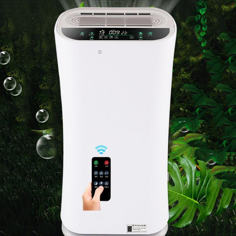 Filtro 220V anioni Air Electrical Appliances casa purificatore ultravioletti telecomando touch screen Timing Muto Camera Ufficio