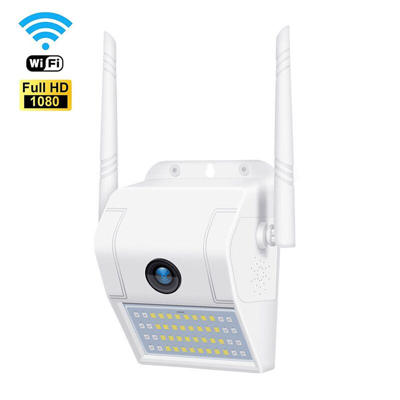 1080P Wireless WiFi IP Camera 2MP Wall Lamp Security Cam Outdoor Two Way Audio Floodlight Color Night Vision Surveillance Camera V380