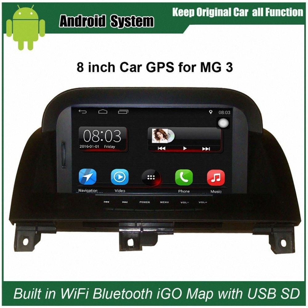 Upgraded Original Car Radio Player Suit to Morris Garages MG3 MG 3 Car Video Player Built in WiFi GPS Navigation Bluetooth ZdYh#