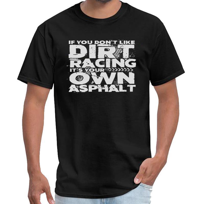 Fitness se non vi piace Dirt Racing è il tuo Rodman t donne della camicia della maglietta Asfalto lungamente grande formato s ~ 5xL vestito