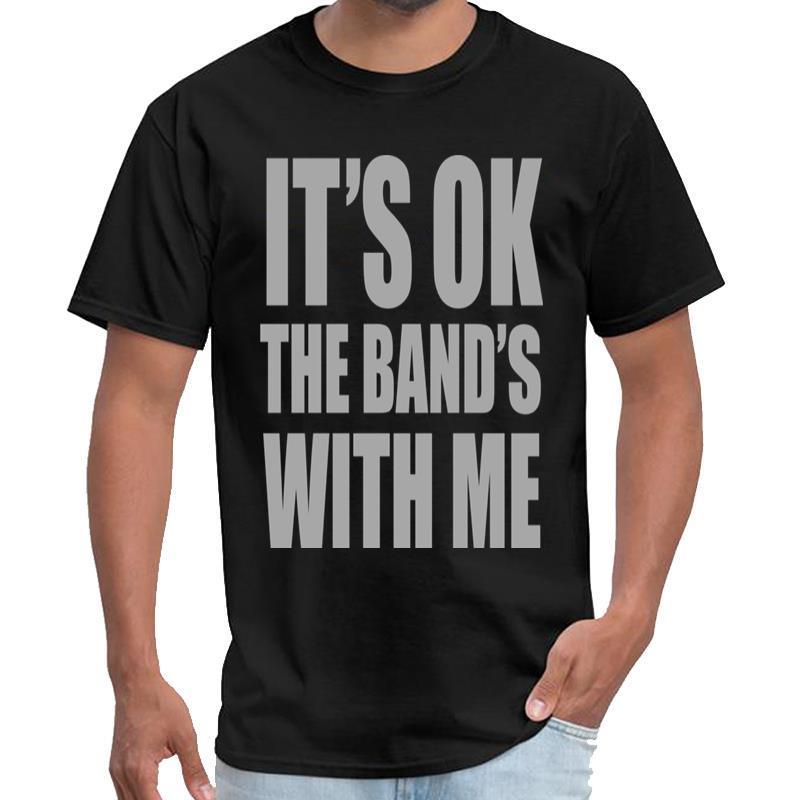 di Stampato E 'Ok The Band With Me maglietta Rhude maschile femminile virtus pro maglietta XXXL 4XL 5XL tee top