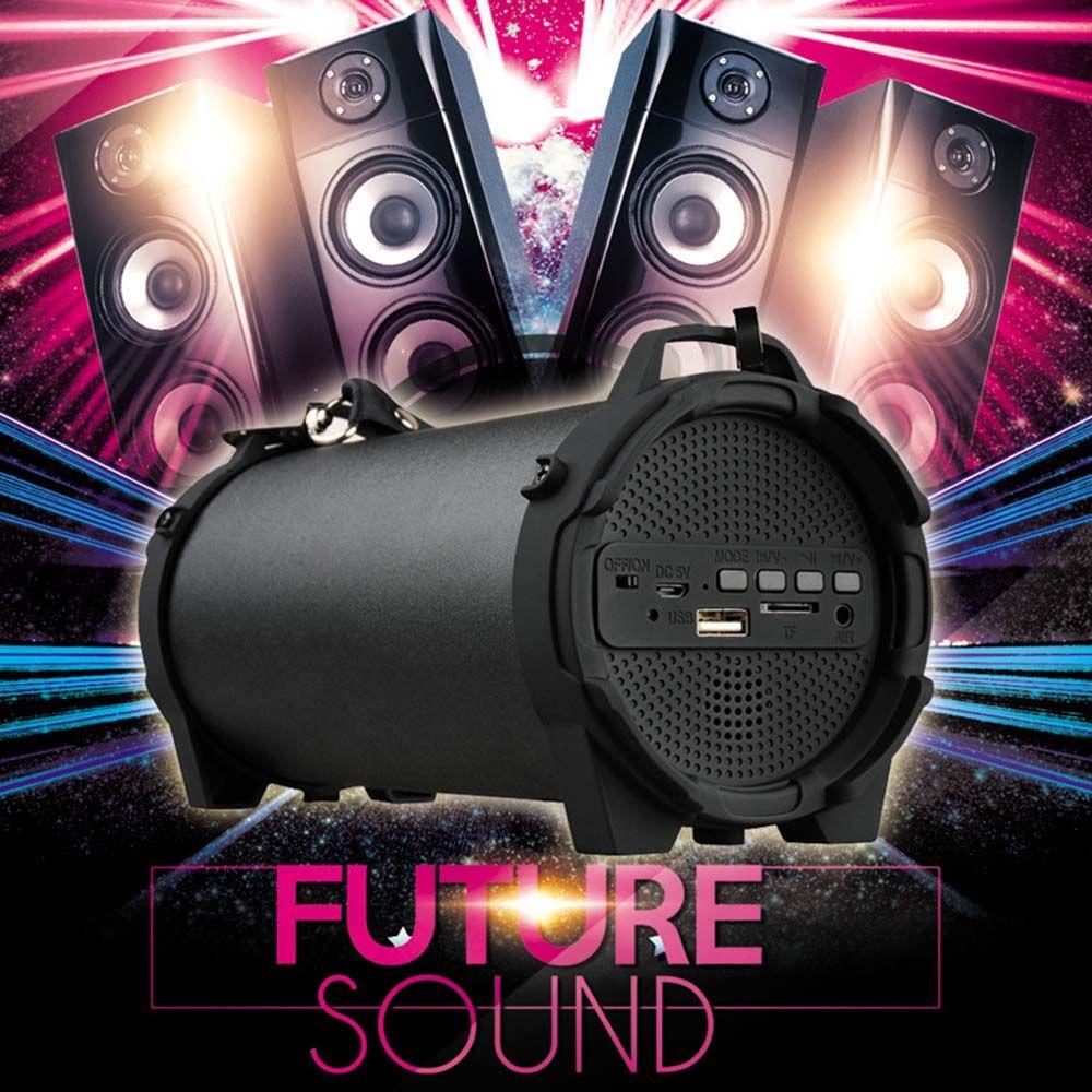 Açık Bluetooth Hoparlör Kablosuz Taşınabilir Spor Subwoofer Hoparlör Stereo Soundbar'ın Masaüstü TFCard Mp3 çalar caixa de som