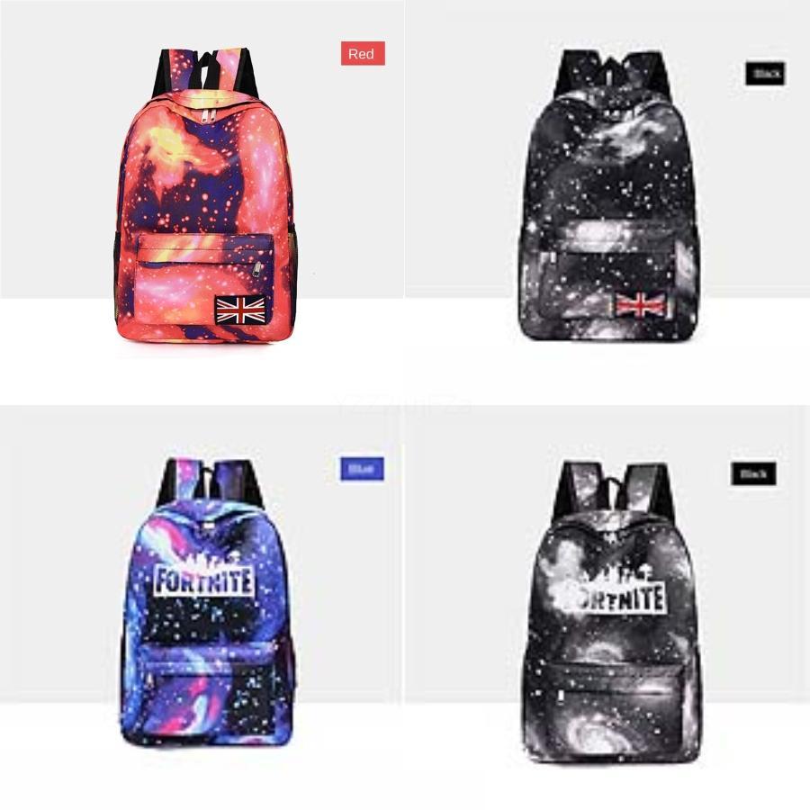 Подлинной Холст Fortnite Starry Sky крепость Ночь Рюкзак, сумка Бизнеса, Мода Урожай Дорожная сумка, роскошная мужская мода коровьей Fortni # 780
