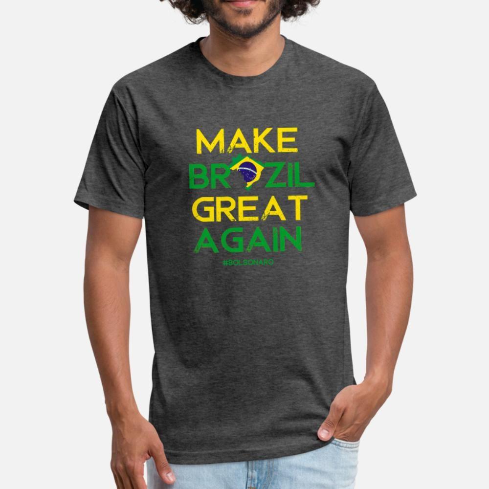 Bolsonaro Shirt, Bolsonaro Presidente 2018 Sleeve Camiset T Shirt Men Impressão Short Round Neck Magro bonito de Moda de Nova Primavera novidade shirt
