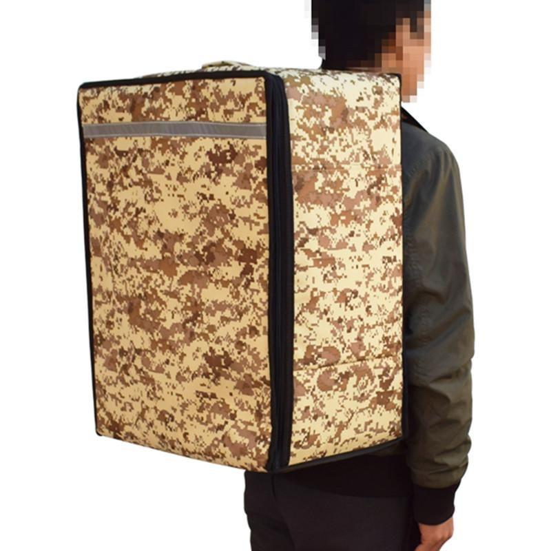 Designer-almoço Saco 52L Mulheres Homens gelo Suitcase Multifunction Picnic Food Cooler Box Duplas bolsas de lona recipiente de armazenamento Mochila bagagem