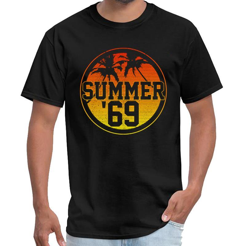 Moda Summer Of 69 - 50th Birthday Presente 1969 do vintage da casa de papel camiseta mulheres xerife camiseta s-5XL topos hiphop